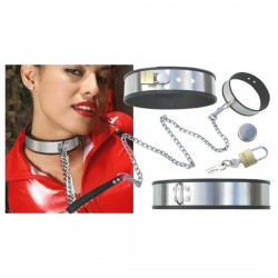 Stainless Steel Neck Collar Adjustable