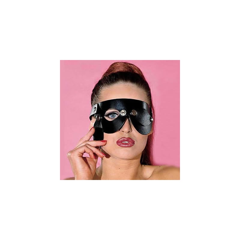 Sexy leather eye masks