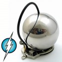Chastity electrified style ball medium size stainless steel (medium intensity)