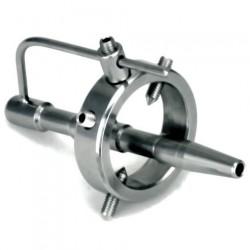 Tige urétale 96mm anneau stainless