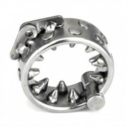 """Stainless steel bracelet Control """"Les Dents de Krom"""" (CBT) Extreme"""