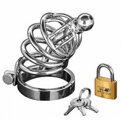"Cage Chastity Far ""Asylum"" stainless steel"