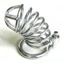 Chastity (SNAKE) model stainless steel coil