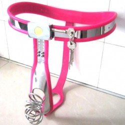 Chastity Belt for Male Fully Adjustable Model T Stainless Steel